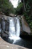 Водопад в Рио-де-Жанейро, Бразилии Стоковая Фотография RF