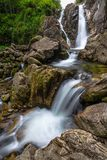 Водопад в Румынии Стоковое фото RF