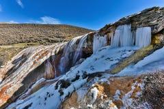 Водопад в ряде Gongga Стоковая Фотография