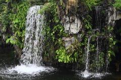 Водопад в саде Baomo Стоковое Изображение