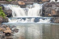 Водопад в Таиланде. Стоковое Фото