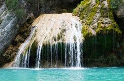 Водопад в ущелье Verdon Стоковое Изображение