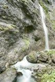 Водопад в ущельях стоковые фотографии rf