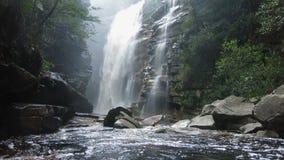 Водопад в Chapada Diamantina видеоматериал