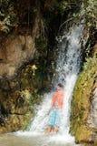 Водопад в Ein Gedi Стоковые Изображения RF