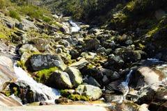 Водопад в Mondim de Basto Стоковое Изображение RF