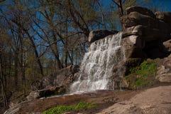 Водопад в Sofievka стоковые изображения rf
