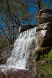 Водопад в Sofievka стоковое фото rf