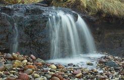 Водопад в Staldzene, Латвии Стоковая Фотография