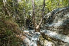Водопад в Trodos стоковые изображения rf