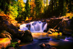 Водопад горы Стоковое фото RF