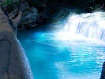 Водопад леса фантазии Стоковая Фотография