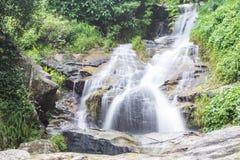 Водопад запрета Wang Bua в парке Doi Suthep-Pui Nationnal, Chiangmai Стоковая Фотография RF