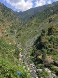 Водопад и поток Стоковое Изображение RF