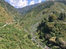 Водопад и поток Стоковые Фотографии RF
