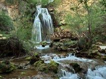 Водопад и поток Стоковые Фото