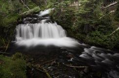 Водопад и Riverflow Стоковое Изображение