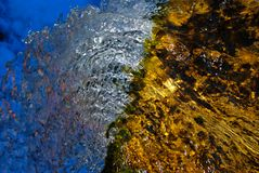 Водопад как предпосылка Стоковое фото RF