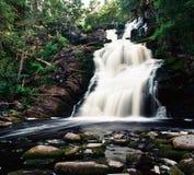 Водопад мосты белизны Стоковые Изображения RF