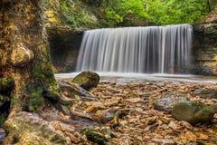 Водопад на беге индейца Стоковые Изображения RF