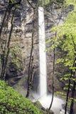Водопад на горе стоковые изображения