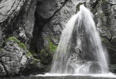 Водопад на горе стоковое фото