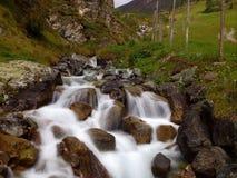 Водопад на длинном влиянии экспозиции Стоковая Фотография RF