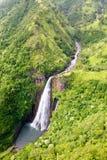 Водопад на Кауаи Стоковое Изображение RF