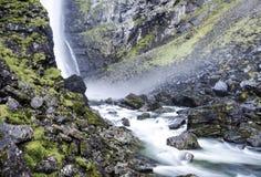 Водопад на юге  Норвегии стоковое фото rf