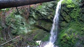 Водопад на южном острове Pender Стоковые Фотографии RF