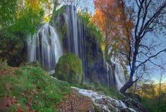Водопад около Etropole, Болгарии стоковое изображение rf