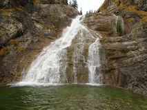 Водопад около Jachenau Стоковые Изображения