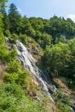 Водопад около Todtnau, городок в черном лесе в Германии Стоковое Фото
