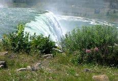 Водопад осенью Стоковые Изображения RF