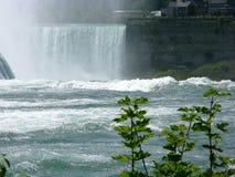 Водопад осенью Стоковое Фото