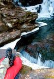 Водопад ослабляя Стоковые Изображения
