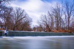 Водопад долгой выдержки Стоковое Фото