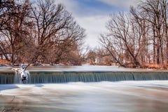Водопад долгой выдержки Стоковая Фотография