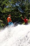 Водопад пристойный Вьетнам Canyoning Стоковое Изображение RF