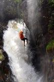 Водопад пристойный Вьетнам Canyoning Стоковое Изображение