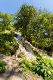 Водопад рая липкий в Таиланде Стоковые Фотографии RF