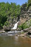 Водопад & река стоковое фото rf