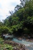 Водопад реки Рио Celeste Стоковое Фото