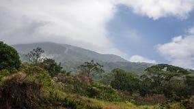 Водопад реки Рио Celeste стоковые изображения rf
