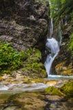 Водопад Рио Арно, Gran Sasso - Италия Стоковые Изображения RF