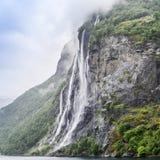 водопад сестер Норвегии 7 стоковые изображения rf