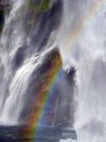 Водопад с радугой Стоковое Фото