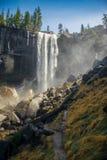 Водопад с туманом Стоковая Фотография