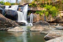 Водопад Тайск-Лаоса стоковые изображения rf