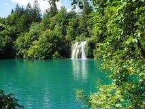 Водопад Хорватия Стоковые Изображения RF